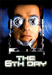 The 6th Day (mit Arnold Schwarzenegger)-Cover